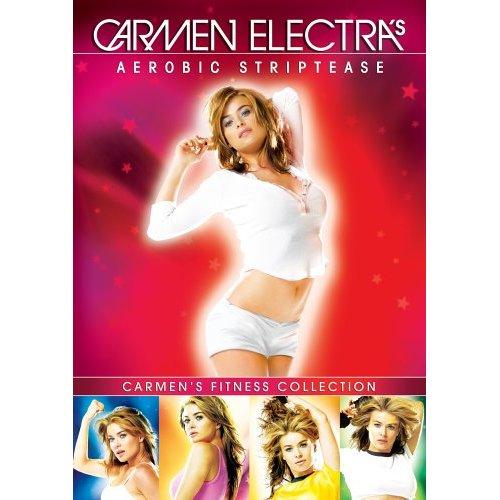 Carmen Electra's  Aerobic Striptease - The Very Popular Striptease Aerobics That Makes Jane Fonda Look Like An Old Fogey Fuddy-Duddy