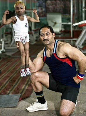Aditya Romeo Dev Can Be Excused For Working Out With A Mini-Kettlebell.